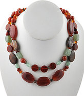 Barse Genuine Stone Statement Necklace
