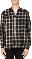 The Kooples Big Check Slim Fit Button-Down Shirt