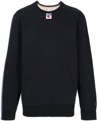 Champion Colour-Block Logo Sweatshirt