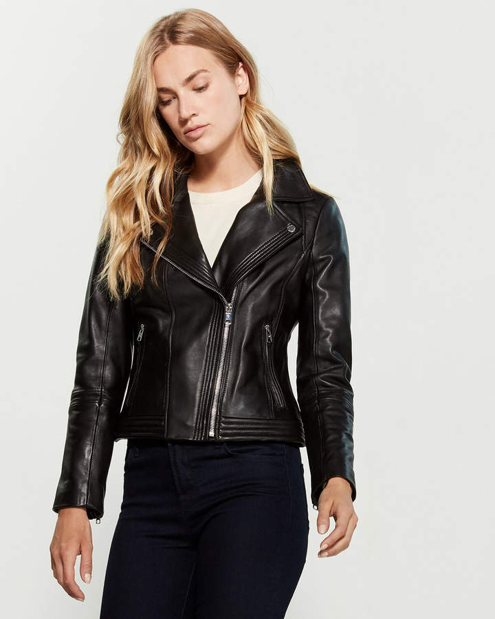 best selling wide selection of colors special discount of Black Leather Moto Jacket