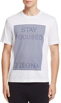 Z Zegna Stay Focused Print Tee