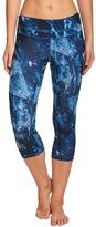 Lucy Women's Printed Studio Hatha Capri Legging 8153454