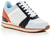 MICHAEL Michael Kors Billie Perforated Color Block Lace Up Sneakers