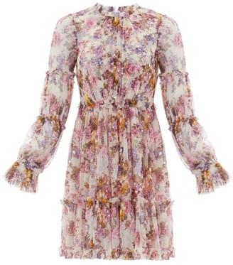 Needle & Thread Harmony Floral Chiffon Dress