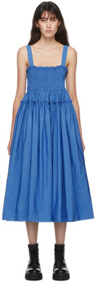 Molly Goddard Blue Kayla Dress
