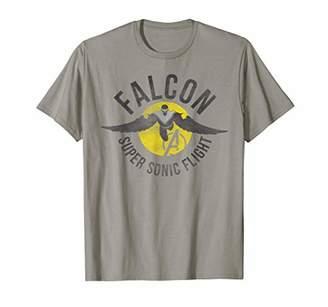 Marvel Assemble Falcon Super Sonic Flight Graphic T-Shirt