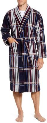 Majestic International Firelight TV Cotton Velour Robe