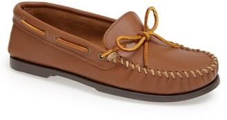 Minnetonka Leather Camp Moccasin