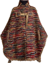 See by Chloe Oversized tweed cape