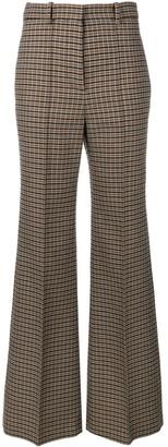 Victoria Beckham Tweed Wide Leg Trousers