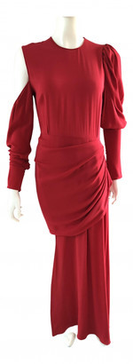Magda Butrym Red Silk Dresses