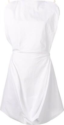 MM6 MAISON MARGIELA draped sleeveless dress