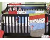 Trend Lab Dr. Seuss Cat in The Hat 4 Piece Crib Bedding Set