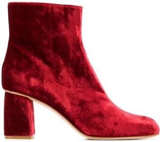 RED Valentino low-heel ankle boots