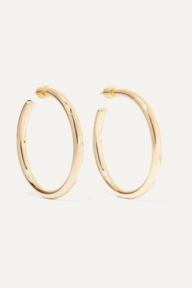 Jennifer Fisher Baby Lilly Gold-plated Hoop Earrings - one size