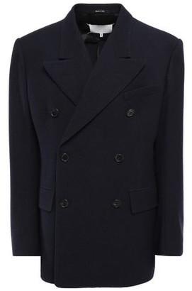 Maison Margiela Double-breasted Wool-gabardine Jacket