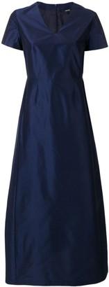 Aspesi structured flared dress