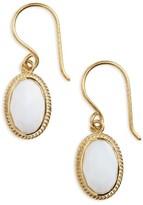 Anna Beck Women's White Opal Drop Earrings