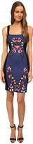 Just Cavalli Sleeveless Dress Print Front Panel