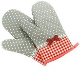 Oven Mitts, Premium Heat Resistant Kitchen Gloves, 1 Pair,Butterfly