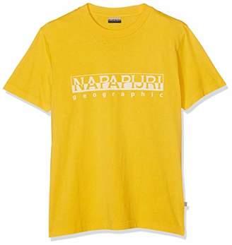 Napapijri Men's Sevora T-Shirt, (Freesia Yellow Ya7), Large (Size: XXX)