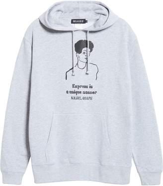 Beams x Naijel Graph Egon Schiele Graphic Cotton Hoodie