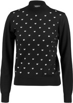 Markus Lupfer Grace embroidered wool sweater