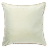 Ann Gish Beaded Welt Taffeta Pillow
