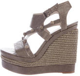 Balenciaga Studded Wedge Sandals