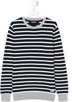 Tommy Hilfiger Junior - striped jumper - kids - Cotton - 14 yrs