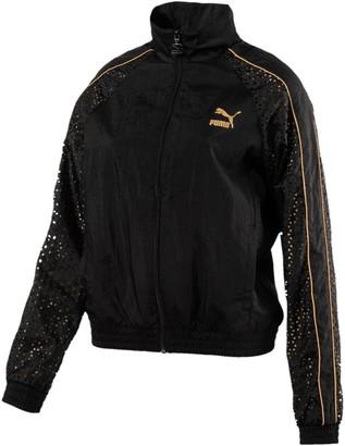 Puma Women's T7 Metal Woven Jacket