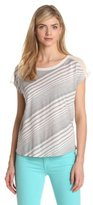 Vince Camuto Two by Women's Back Tie Tee