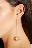 Forever 21 Geo Drop Earrings