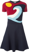 RED Valentino flared knit dress