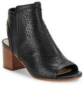 Via Spiga Jorie Lasercut Leather Ankle Boots