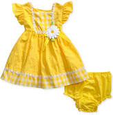 Sweet Heart Rose Floral-Trim Eyelet Dress, Baby Girls (0-24 months)
