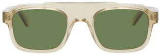 Thierry Lasry Beige Fatality Sunglasses