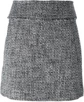 MICHAEL Michael Kors tweed mini skirt - women - Polyester/Spandex/Elastane - 2