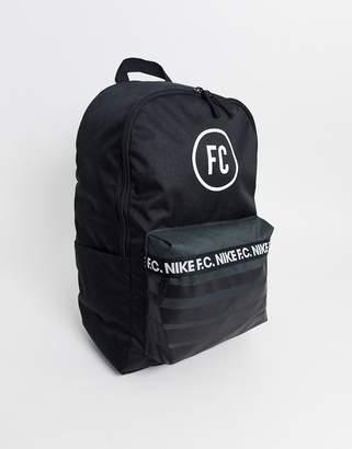 Nike Football F.C. backpack in black
