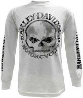 Harley-Davidson Men's Shirt, Willie G Skull Long Sleeve Tee, 30296646 (L)