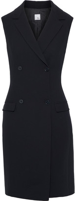 Iris & Ink Laurel Double-breasted Cady Tuxedo Dress