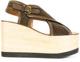Etoile Isabel Marant Isabel Marant - Étoile Zlova sandals - women - Leather/Calf Suede/rubber - 37
