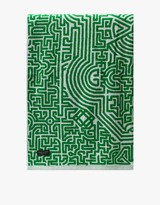 Moroccan Beach Towel in Green