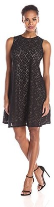 Julian Taylor Women's Lace Trapeze Dress