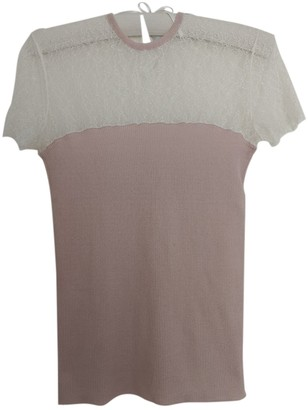 Christian Dior Pink Cashmere Top for Women