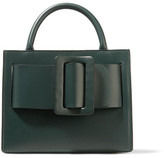 Boyy Bobby 23 Small Buckled Leather Tote - Emerald