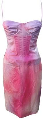 Louis Vuitton Pink Silk Dresses