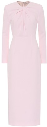 Emilia Wickstead Exclusive to Mytheresa Remy crepe midi dress