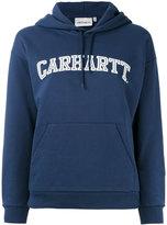 Carhartt logo print hoodie - women - Cotton - L