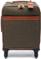 Mulberry Four Wheel Trolley Mole and Cognac Scotchgrain